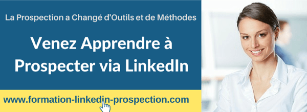 formation linkedin prospection 100% pratique
